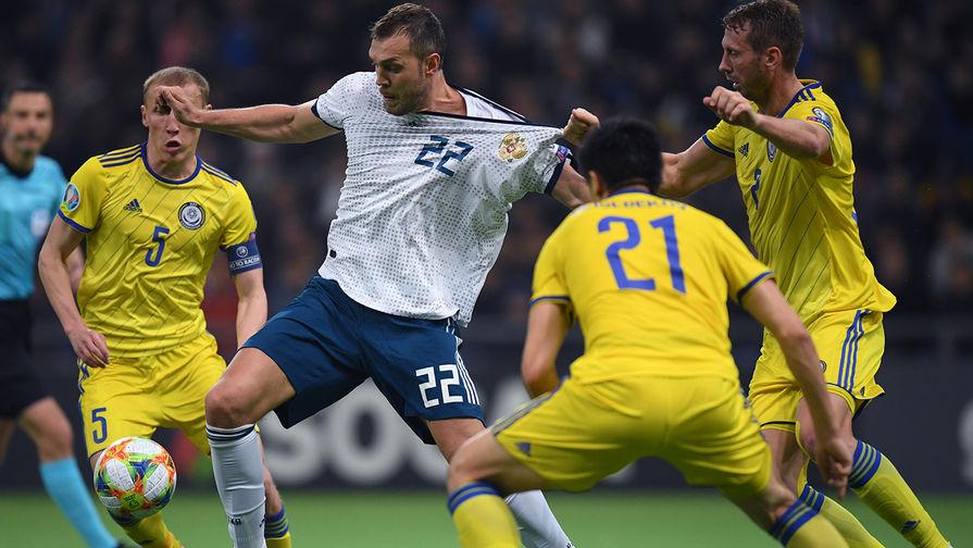 Отборочный матч «ЕВРО-2020»: команда РК проиграла россиянам