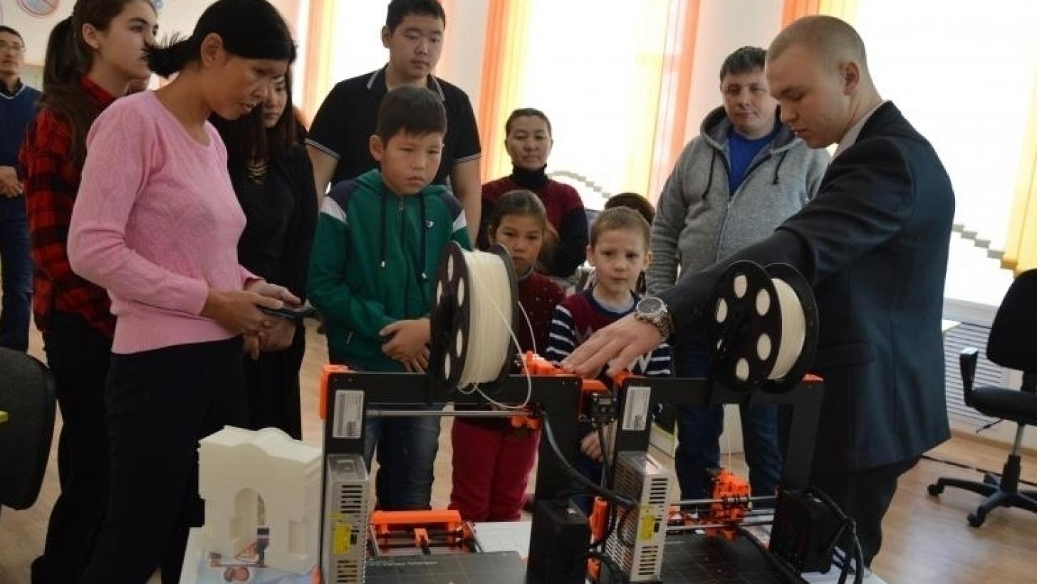 В Карагандинской области открылся технопарк для детей