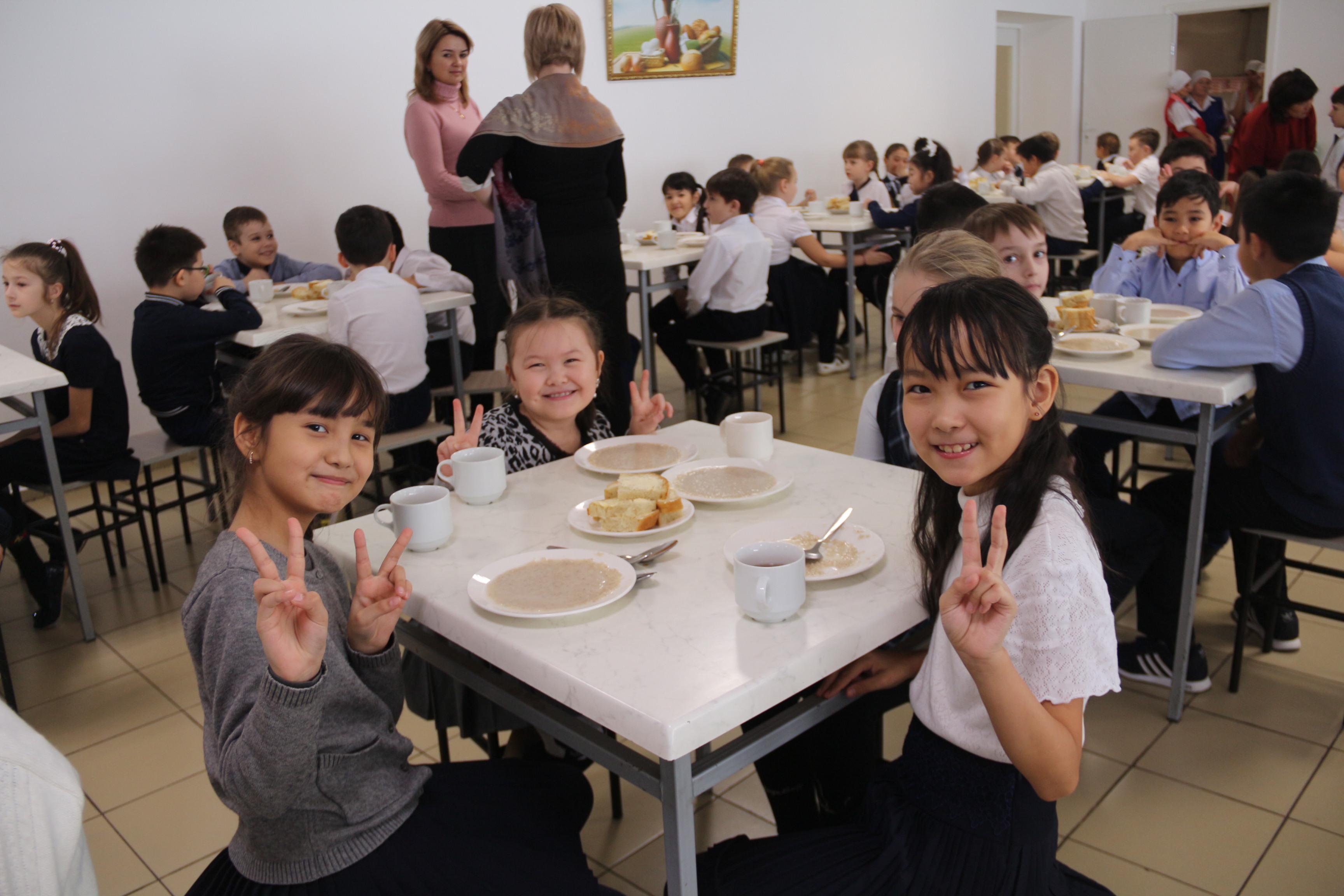 54 школы Кызылорды не давали бесплатного питания детям из малообеспеченных семей