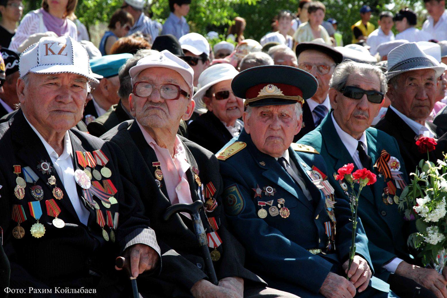 Ветераны ВОВ из Нур-Султана получат 519.000 тенге ко Дню Победы