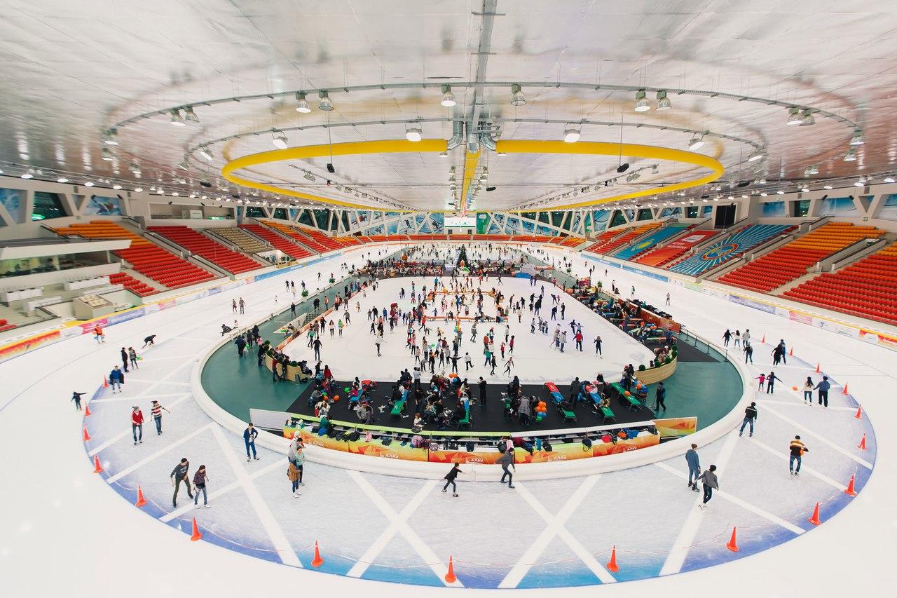 В ледовом дворце «Алау» закрывают сезон массовых катаний