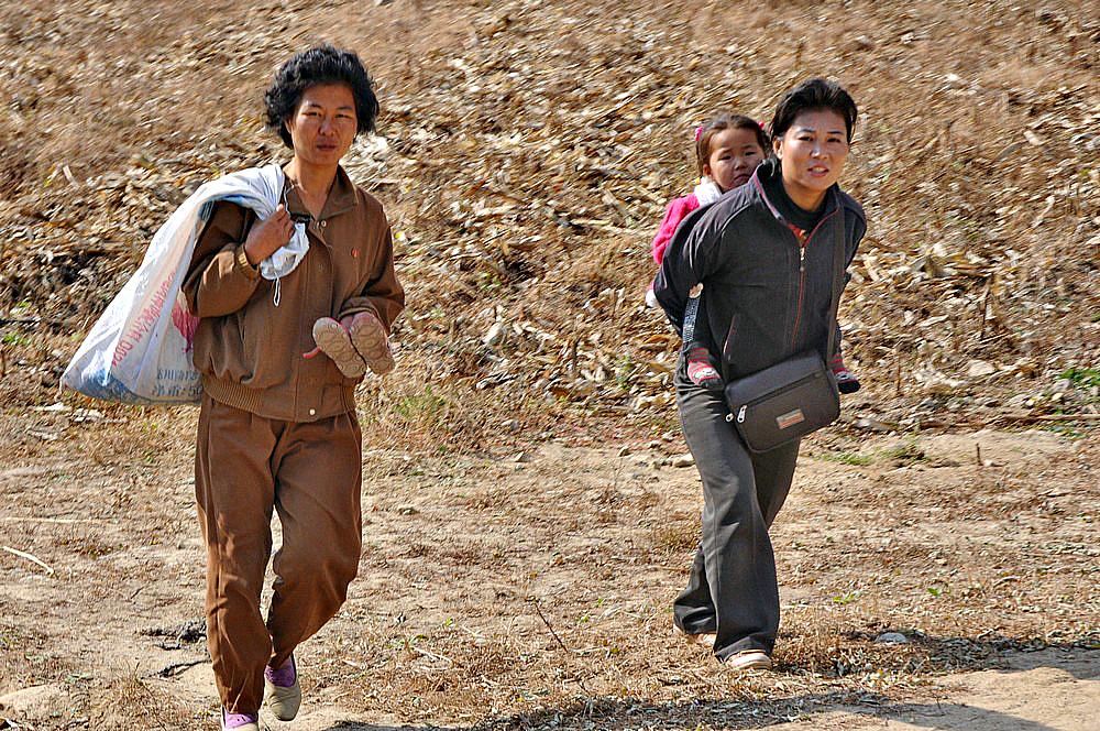 Жители Северной Кореи оказались на грани голода