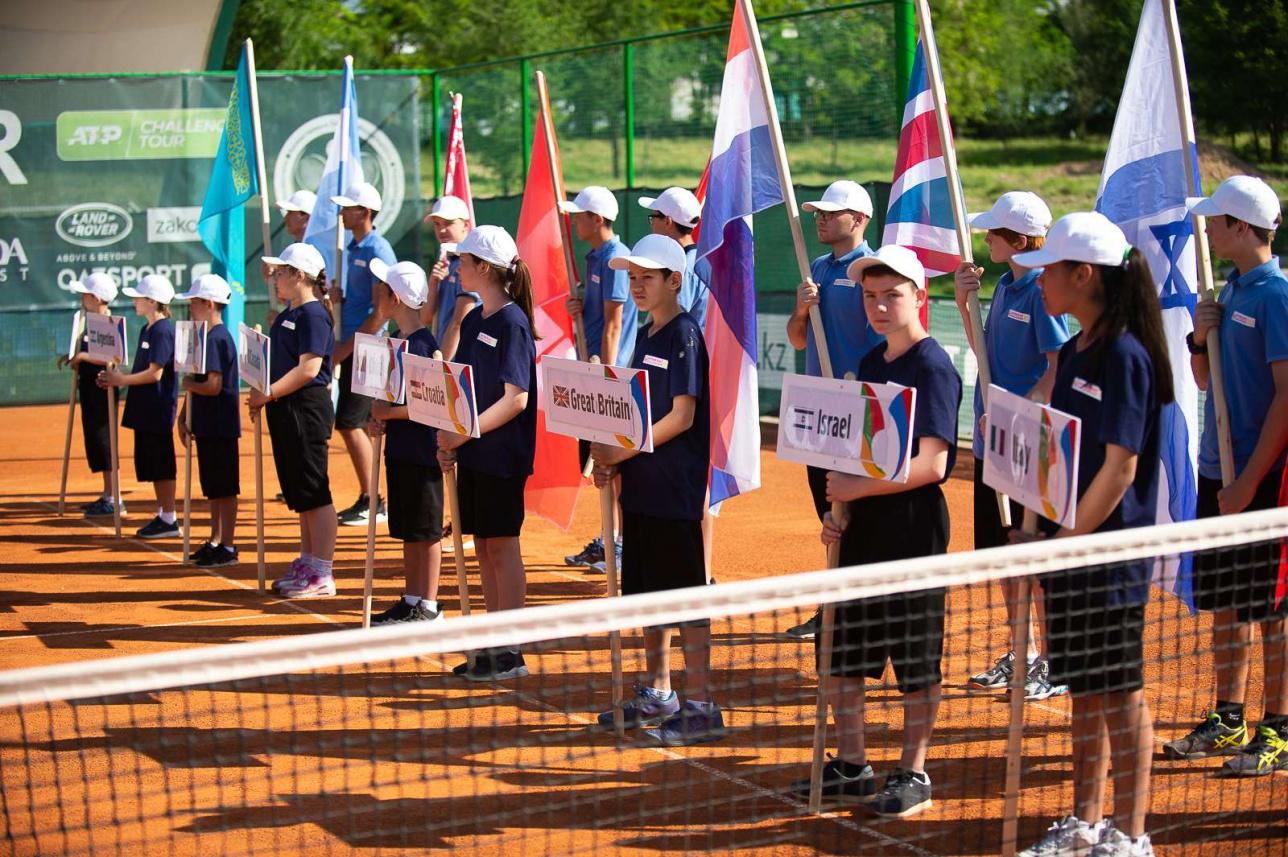 Топ-турнир в Шымкенте: Теннисисты из 30 стран начали борьбу за первое место