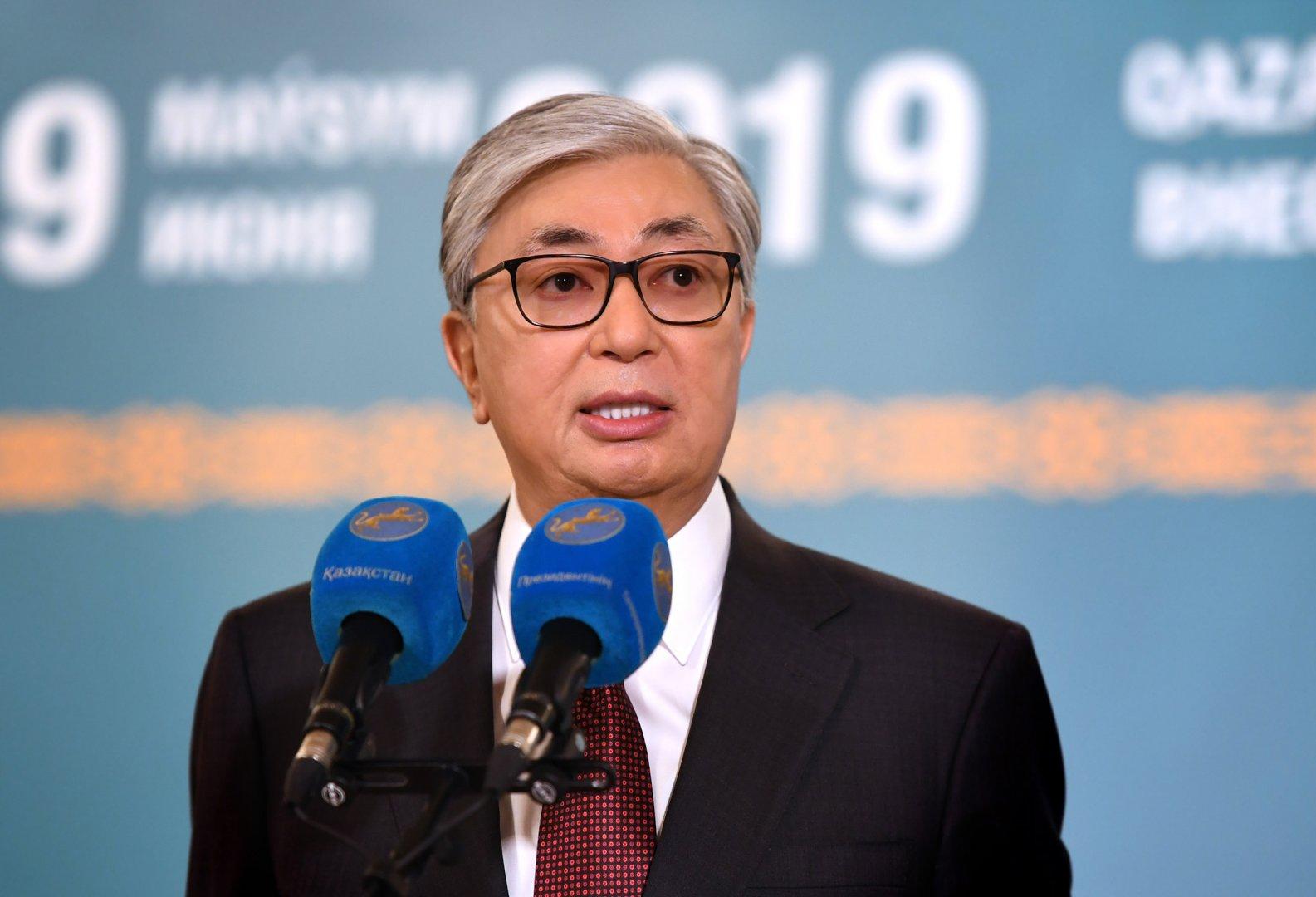 Токаев поблагодарил казахстанцев за оказанное ему доверие