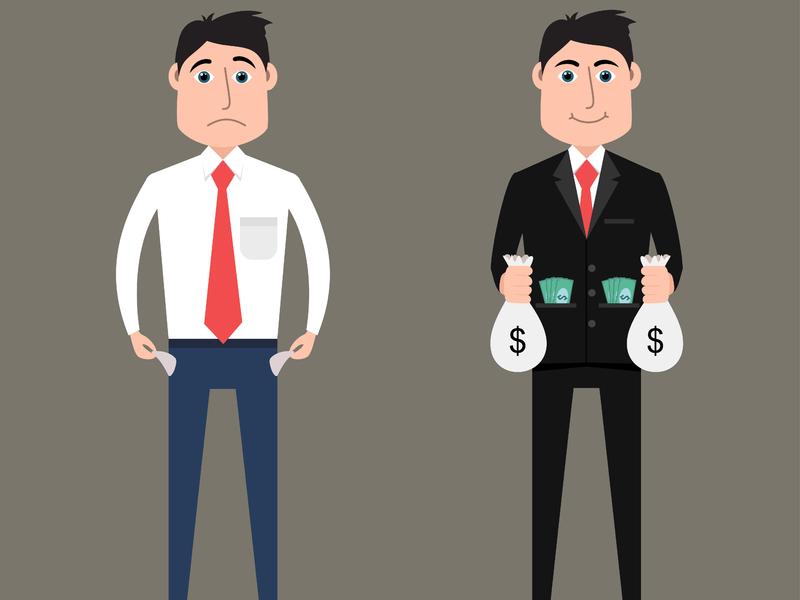 Тест: Проверьте, у вас мышление богатого или бедного человека?