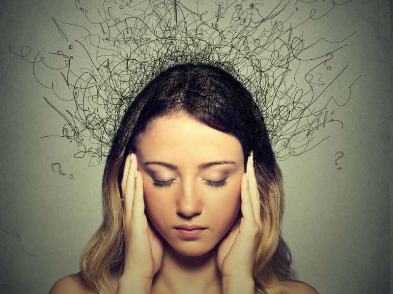 цветной картинки психологического состояния такая нас