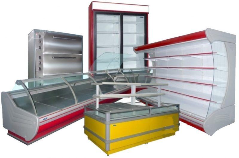 Холодильное и морозильное оборудование для магазина, ресторана